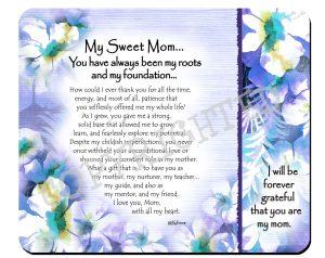 My Sweet Mom - Snack Mat - Hi-RES