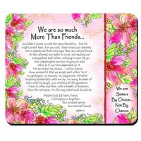 We are so much More Than Friends… – (Kukana) Snack Mat/Mouse Pad