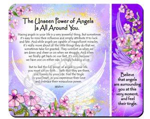 Power of Angels - Snack Mat - Hi-RES