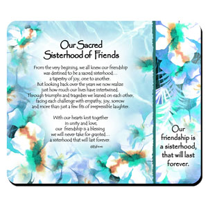 Sisterhood of Friends - Snack Mat