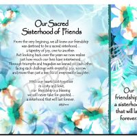 Our Sacred Sisterhood of Friends. – (Kukana) Snack Mat/Mouse Pad