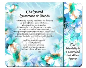 Sisterhood of Friends - Snack Mat - Hi-RES