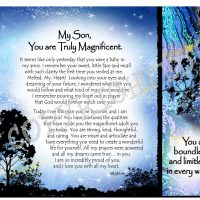 My Son, You are Truly Magnificent – (Kukana) Snack Mat/Mouse Pad