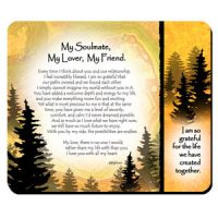 My Soulmate, My Lover, My Friend. – (Kukana) Snack Mat/Mouse Pad