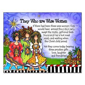 Wise Women Note card