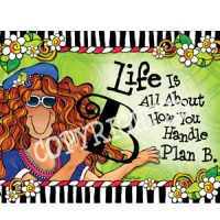 Life Is All About How You Handle Plan B – Note Cards