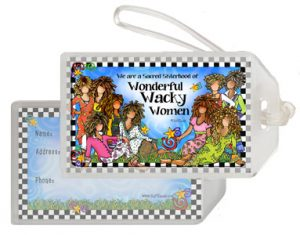 Sacred Sisterhood (9 girls) - bag tag