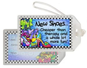 Shoe Therapy - Bag tag