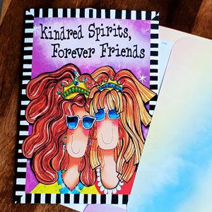 Forever Friends - greeting card
