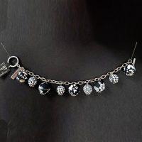 Black & White – Clay Bead Bracelet – (LIMITED AVAILABILITY)