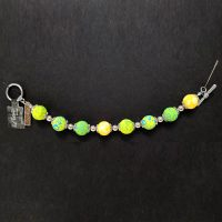 Green & Yellow – Clay Bead Bracelet – (LIMITED AVAILABILITY)