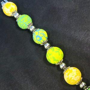 Green 7 Yellow Bracelet