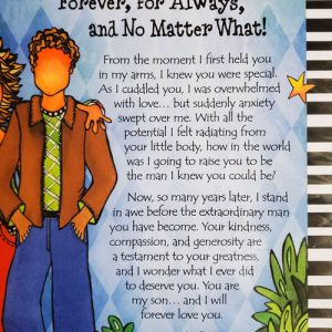 My Son Forever for Always - Print with envelope - STORY