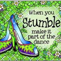 When you Stumble make it part of the dance – (Irish/Celtic) Mouse Pad