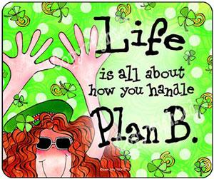 Celtic Irish Plan B Mouse pad