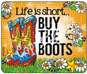 Buy the Boots Mouse pad