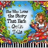 She Who Loves the Story That Each Quilt Tells – Mouse Pad
