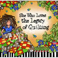 She Who Loves the Legacy of Quilting – Mouse Pad