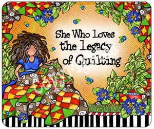 Quilting LEGACY - Mouse Pad