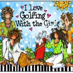 I Love Golfing With the Girls – Mouse Pad