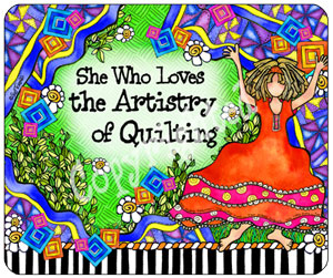 Quilting Artistry - Mouse Pad