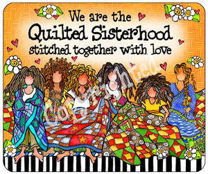 Quilted Sisterhood - Mouse Pad