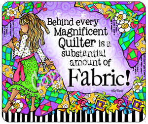 Magnificent Quilter - Mouse Pad