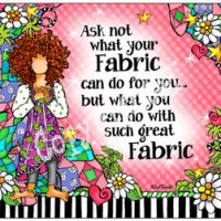Ask not what your Fabric can do for you… but what you can do with such great Fabric – Mouse Pad