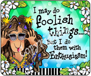 foolish things - Mouse pad