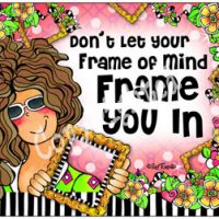 Don't Let Your Frame of Mind Frame You In – Mouse Pad