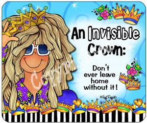 Invisible Crown - mouse pad