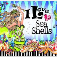 I Love Sea Shells – (Divas of the Deep) Mouse Pad