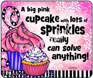 Cupcake Sprinkles - mouse pad