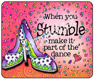 Stumble - mouse pad