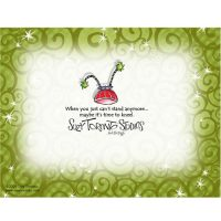 If you only pray when you're in trouble, you're in trouble! – Note Cards