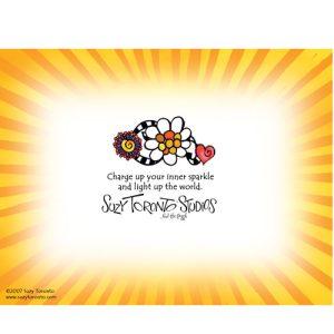 Sunshine Note Card - BACK