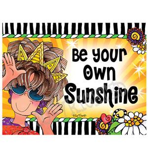 Sunshine - note card