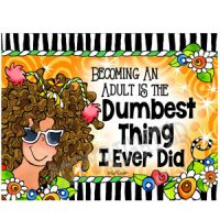 Becoming An Adult Is The Dumbest Thing I Ever Did – Note Cards