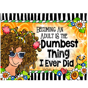 Dumbest Thing - note card