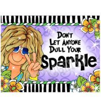 Don't Let Anyone Dull Your Sparkle – Note Cards