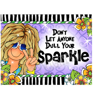 sparkle - note card