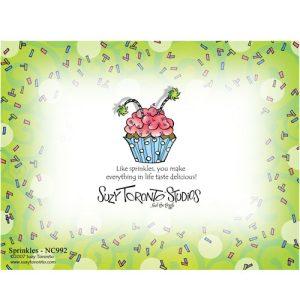 Sprinkles Note Card - BACK