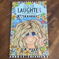 "COLOR Laughter – ""on-the-go"" Coloring Book"