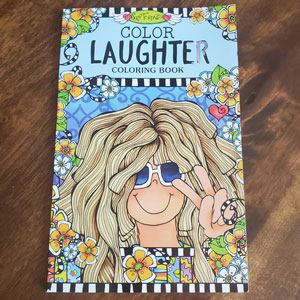 Laughter Coloring book - cover