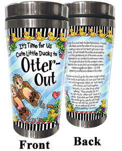 Otter Out Stainless Steel Tumbler
