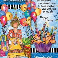 She Who is the Birthday Girl …I just love it when it's your Birthday. – Bookmark