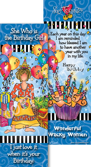 Birthday Girl - Bookmark