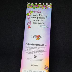 Rainbow Rain PREMIUM Book mark - BACK