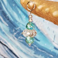 "Queen's Scepter Charm for the Mermaid ""Splash"" Necklace (Divas of the Deep) –  (LIMITED QUANTITIES)"