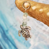 "Honu Charm for the Mermaid ""Splash"" Necklace (Divas of the Deep) – (LIMITED QUANTITIES)"
